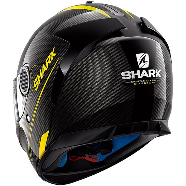 casque spartan carbon silicium shark moto dafy moto casque int gral de moto. Black Bedroom Furniture Sets. Home Design Ideas