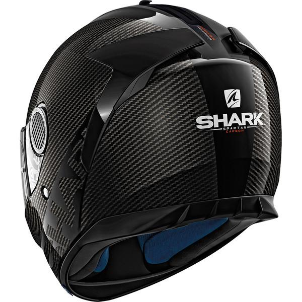 casque spartan carbon skin shark dafy moto casques moto en carbone. Black Bedroom Furniture Sets. Home Design Ideas