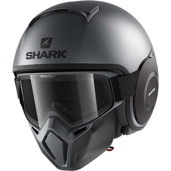 casque street drak neon shark moto dafy moto casque jet de moto. Black Bedroom Furniture Sets. Home Design Ideas