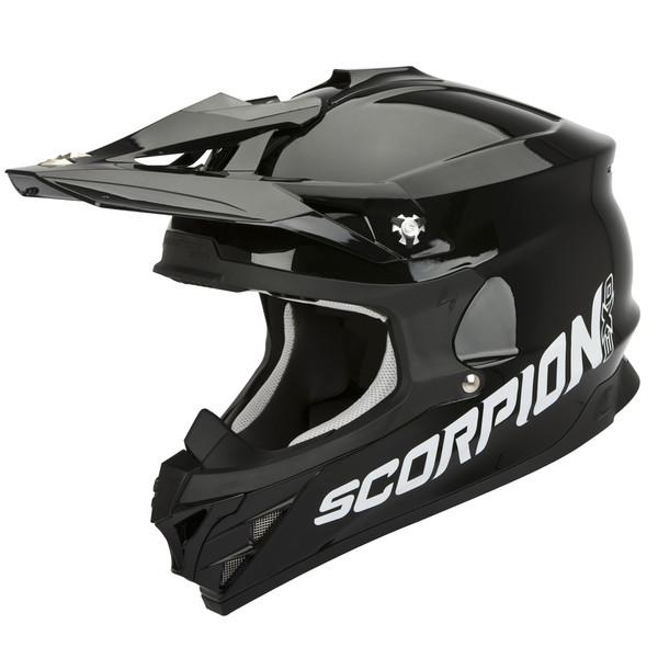 casque vx 15 evo air solid scorpion moto dafy moto casque tout terrain de moto. Black Bedroom Furniture Sets. Home Design Ideas