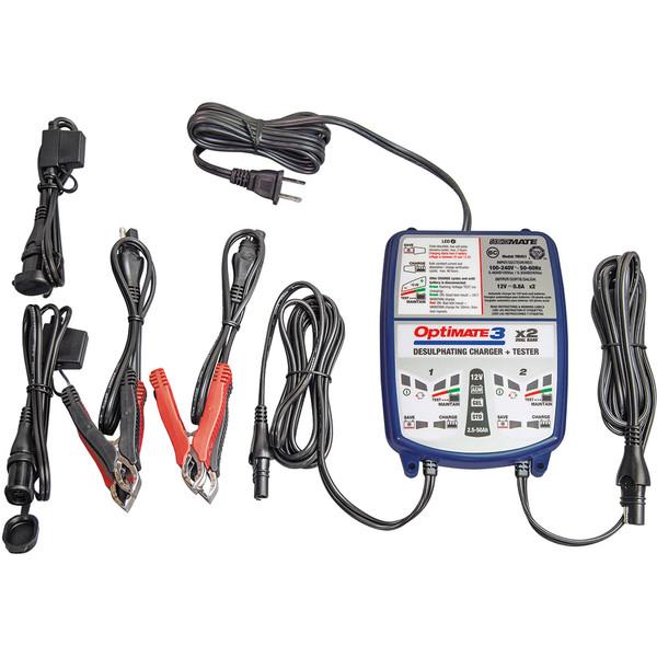 Chargeur de batterie Optimate 3 TM450
