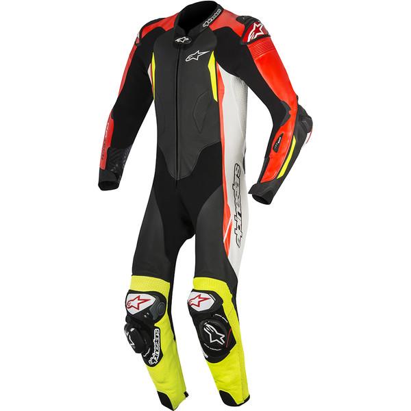 Combinaison gp tech v2 alpinestars moto dafy moto - Cable blanc rouge jaune ...