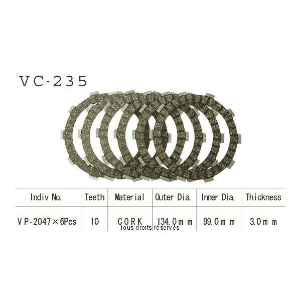 Disques garnis d'embrayage VC235