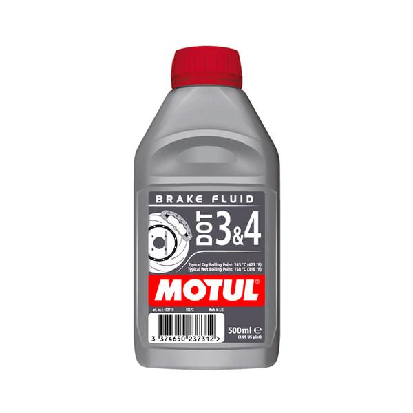 DOT 3 & 4 Brake Fluid 500ml