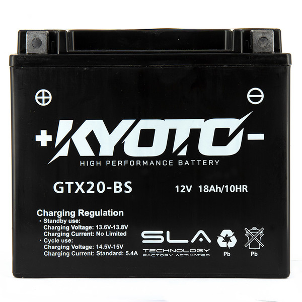 Batterie GTX20-BS SLA