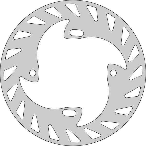 Disque de frein FE.H360