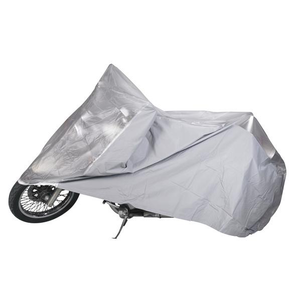 Housse moto en pvc dmp b che de protection de moto for Housse moto custom