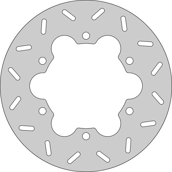 Disque de frein FE.HVA410