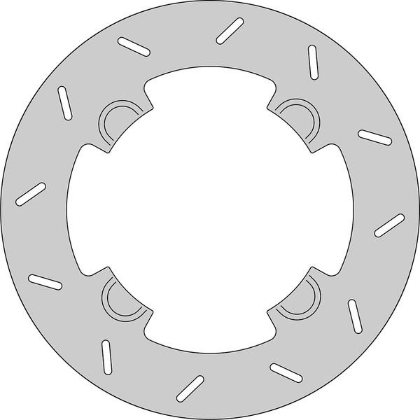 Disque de frein FE.HVA453