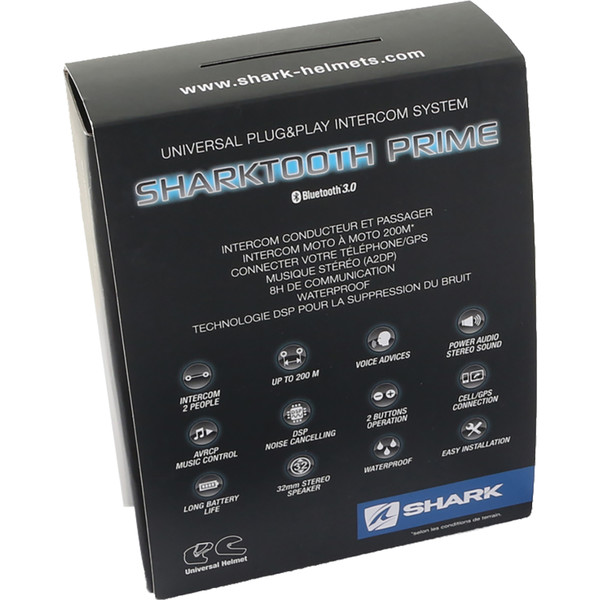 Kit bluetooth / Intercom Sharktooth® Prime