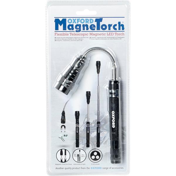 Lampe de poche LED téléscopique magnétique