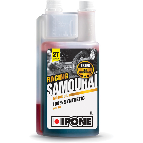 Lubrifiant Samouraï Racing - Moto 2 temps