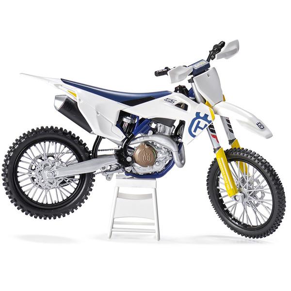 Maquette moto 1/12e Husqvarna FC450/19