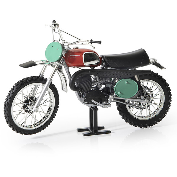 Maquette moto Husqvarna 250 Vintage 1970