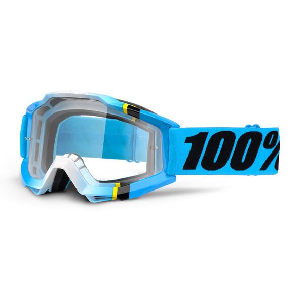 Masque Accuri Blue Crystal Clear Lens