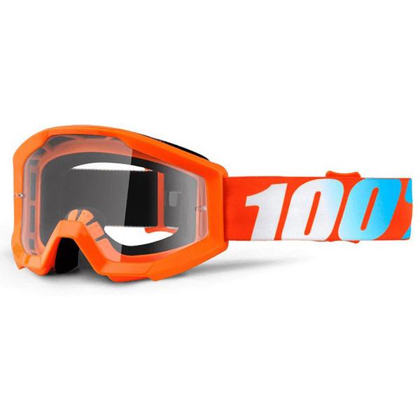 Masque Strata Orange Junior Clear Lens