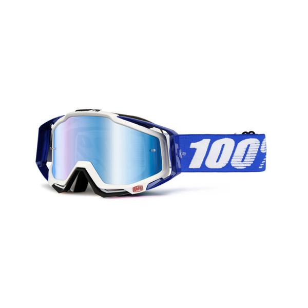 Masque Racecraft Cobalt Blue Mirror Lens