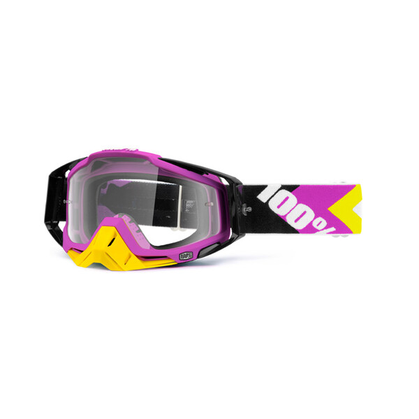 Masque Racecraft Hyperion Pink Clear Lens
