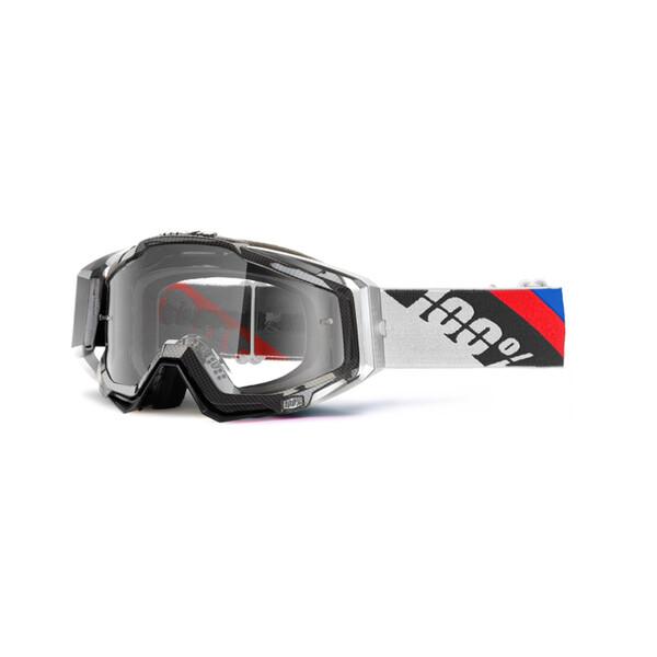 Masque Racecraft Slant Carbon Clear Lens