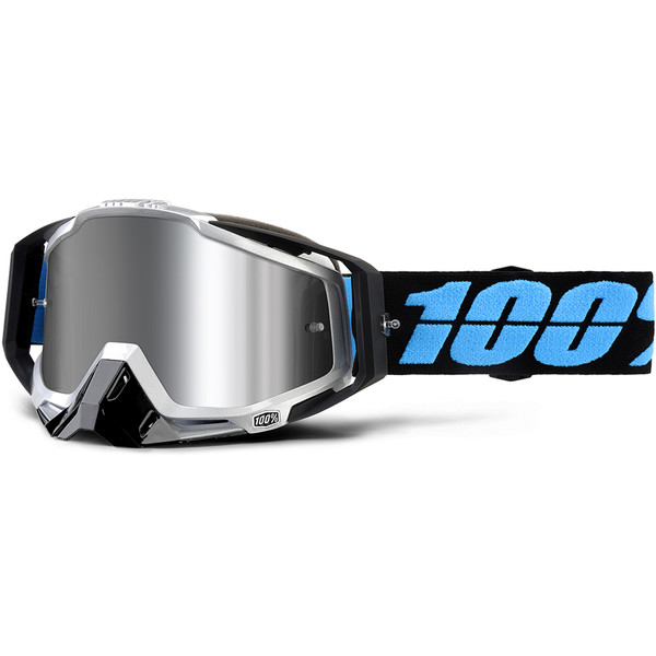 Masque Racecraft + Daffed Mirror Silver Lens