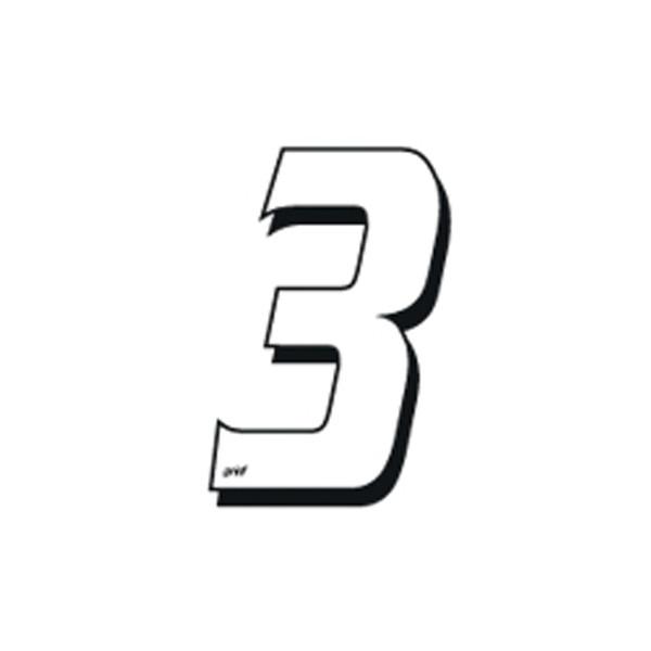 Numéro Autocollant Cross 3