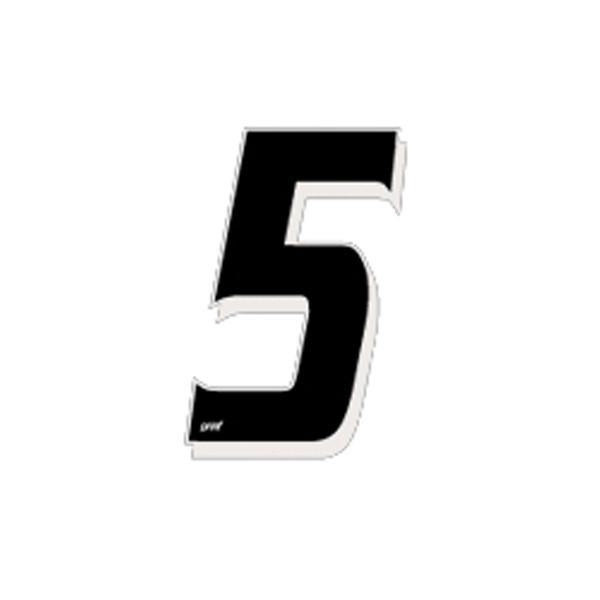 Numéro Autocollant Cross 5