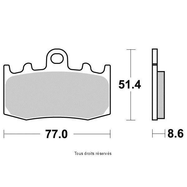 Plaquettes de frein S9000N