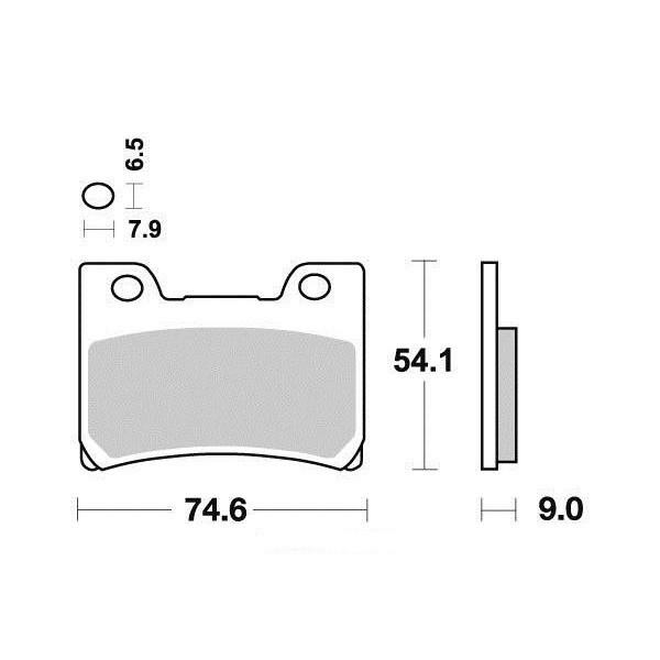 Plaquettes de frein S1048N