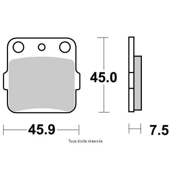 Plaquettes de frein S1059AN