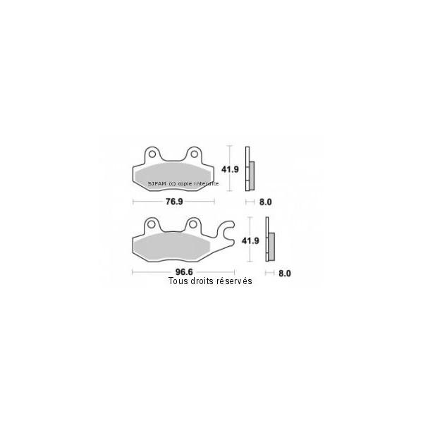 Plaquettes de frein S1085N