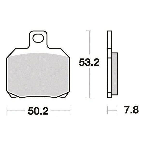 Plaquettes de frein S1110N