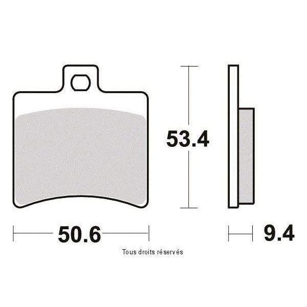Plaquettes de frein S1113N