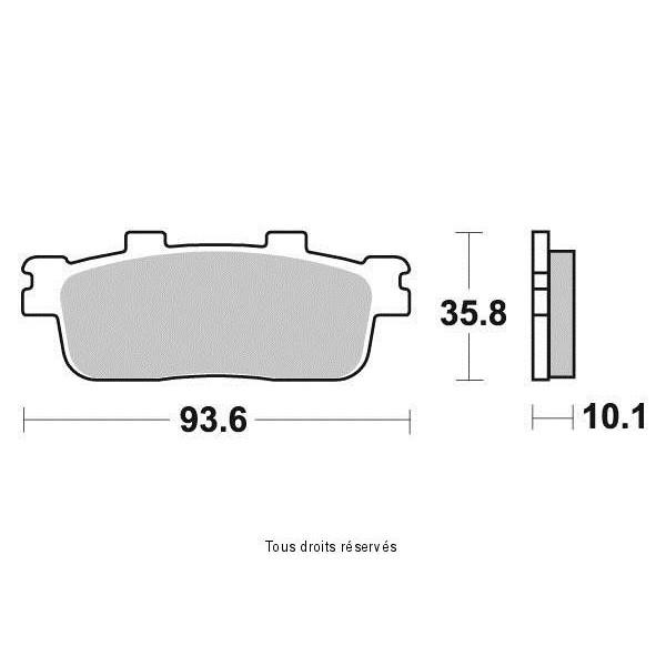 Plaquettes de frein S1993N