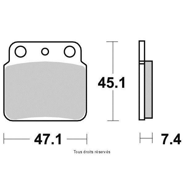 Plaquettes de frein S1341N