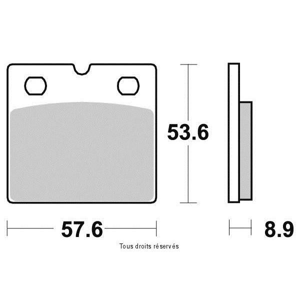 Plaquettes de frein S1934N