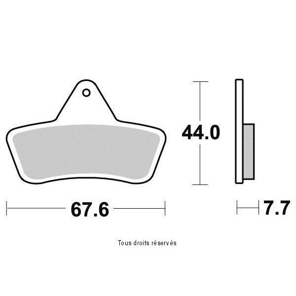 Plaquettes de frein S1965N