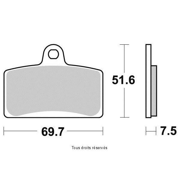 Plaquettes de frein S9021N