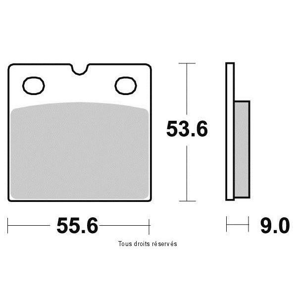 Plaquettes de frein S1076AN