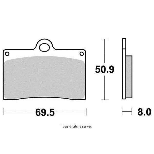 Plaquettes de frein S1083N