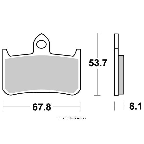 Plaquettes de frein S1092N