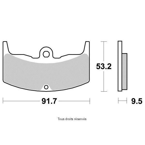 Plaquettes de frein S1129N