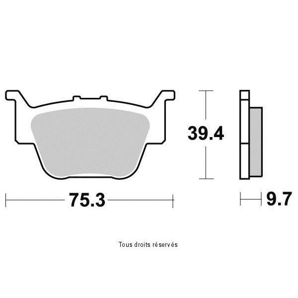 Plaquettes de frein S1171N