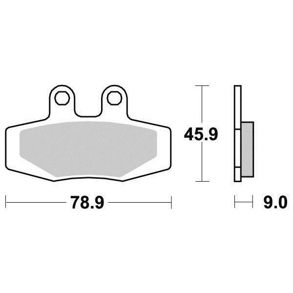 Plaquettes de frein S1936N