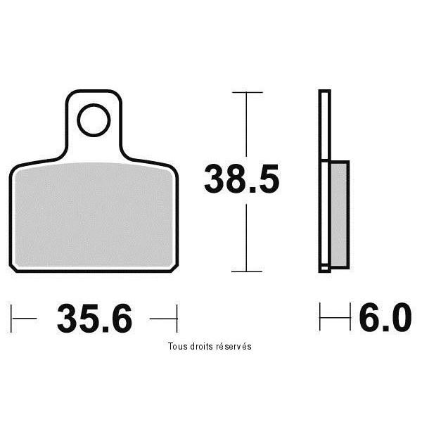 Plaquettes de frein S9003N