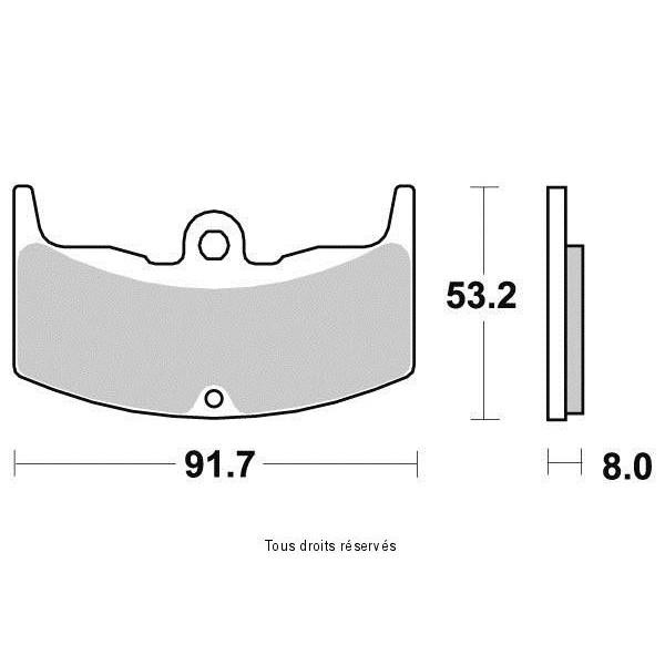 Plaquettes de frein S1129AN