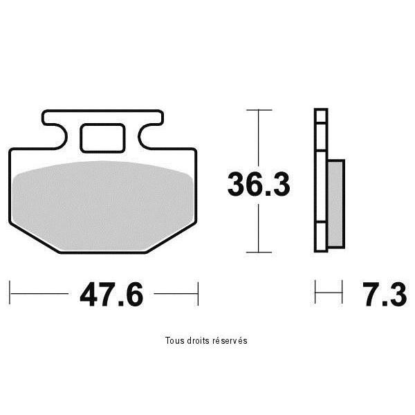 Plaquettes de frein S1137N