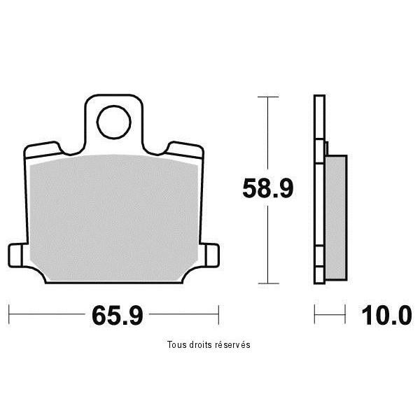 Plaquettes de frein S1221N