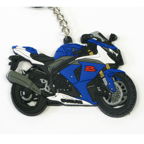Porte Clé GSXR1000 Bleu Suzuki