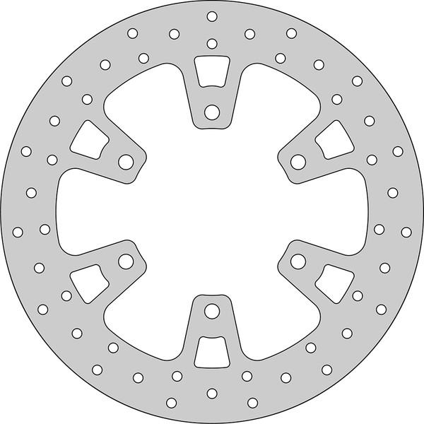 Disque de frein FE.S568