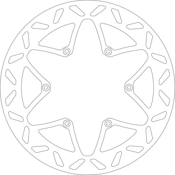 Disque de frein 5013
